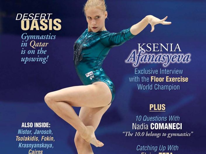 International Gymnast / Jan 2012