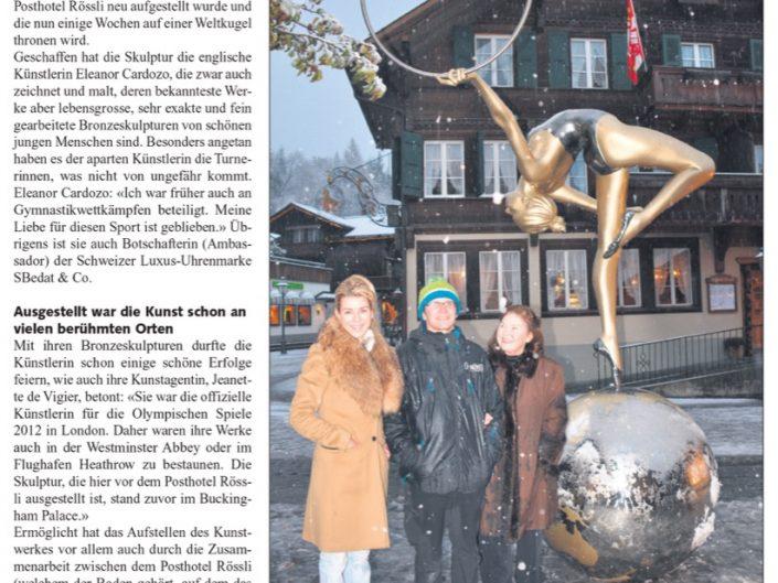 Saanen Gstaad All Media / Jan 2015
