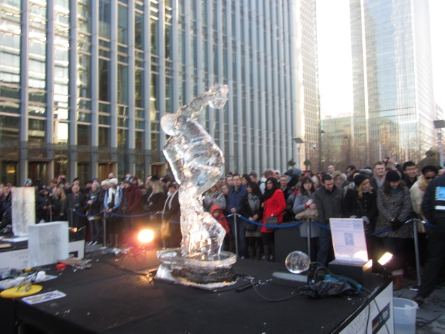 Ice Sculpting Festival - London 2012