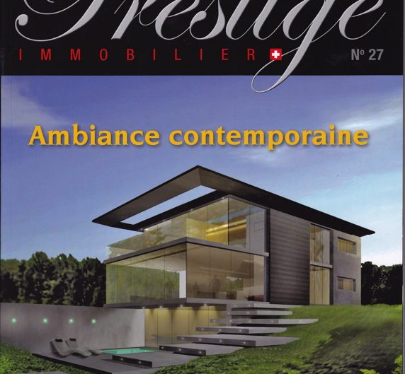 Prestige Immobilier May-June 2011
