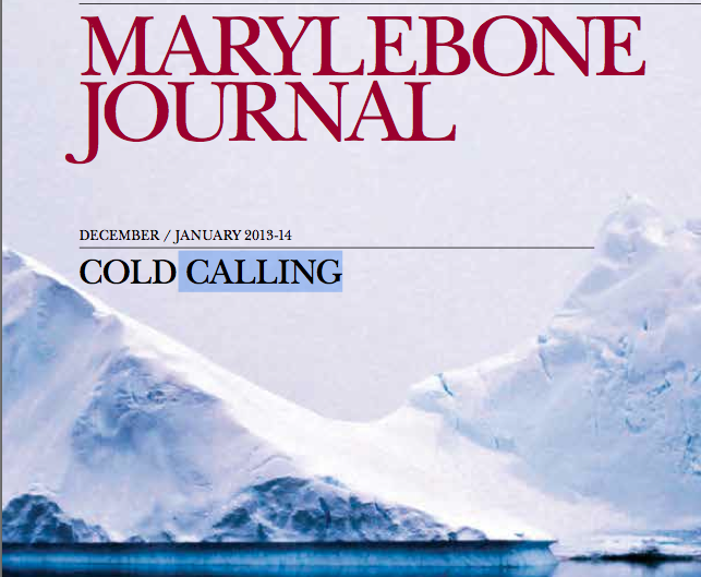Marylebone Journal / Dec-Jan 2013/2014